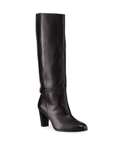 Rachel Leather Knee Boots