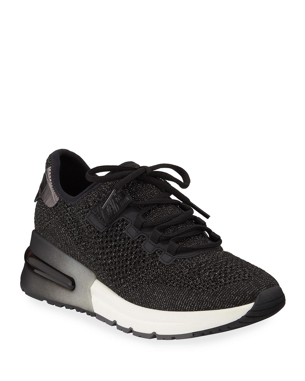 Krush Bis Mesh Sneakers, Black