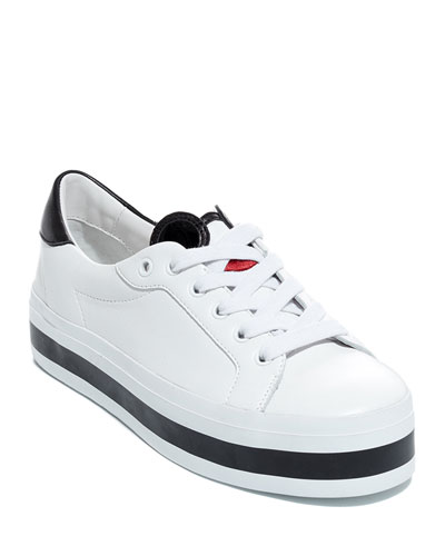 Elisha Stace Face Low-Top Sneakers