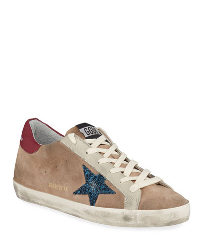 Superstar Desert Snake-Print High-Top Sneakers