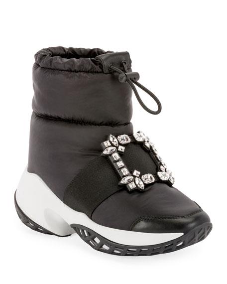 Roger Vivier Viv' Run Snow Booties