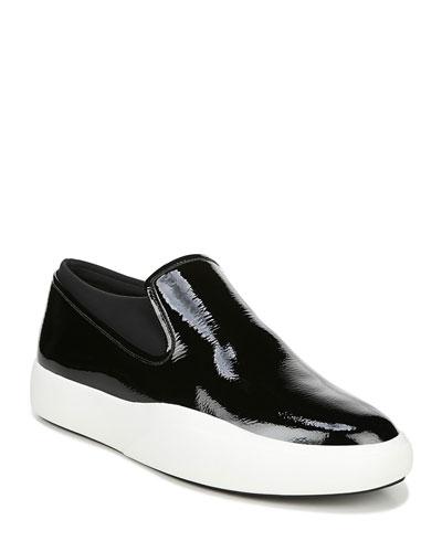 Yvonne Patent Platform Sneakers