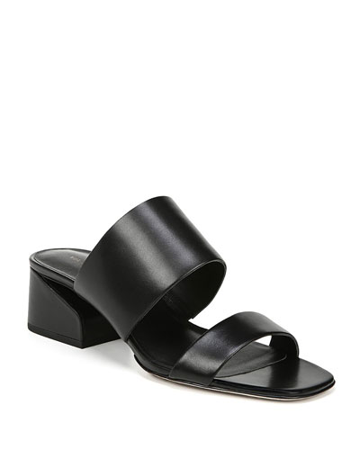 Phillipa Leather Slide Sandals