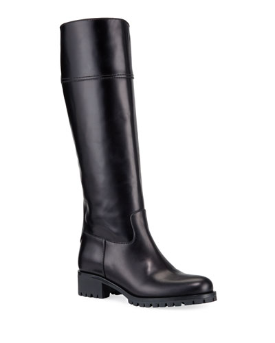 916b19c8707 Leather Lining Pull Boots | Neiman Marcus