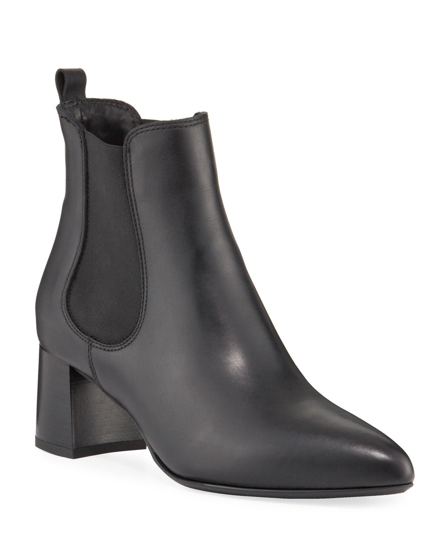 Duncan Weatherproof Leather Booties