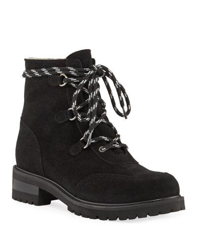 Charm Weatherproof Shearling Hiker Boots