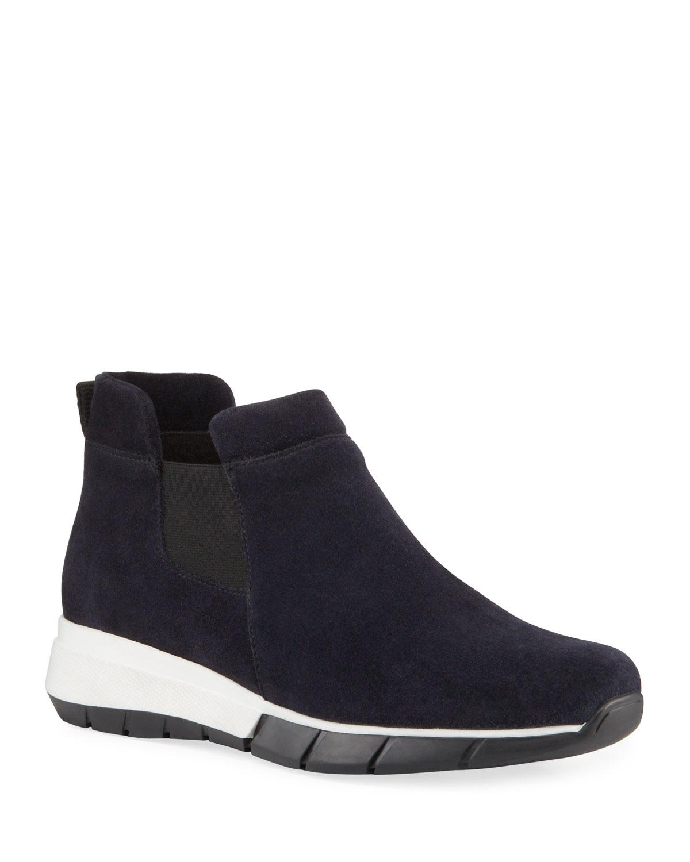 Nikki Weatherproof Suede Sneakers
