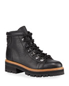 Marc Fisher LTD Issy Leather Hiker Boots