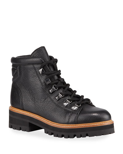Issy Leather Hiker Boots