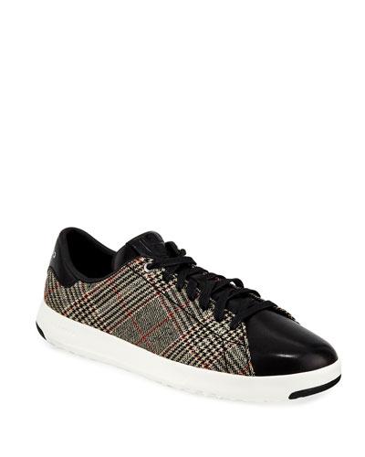 Grandpro Plaid Tennis Sneakers