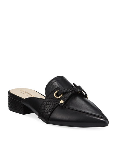 Emily Grand Loafer Mules