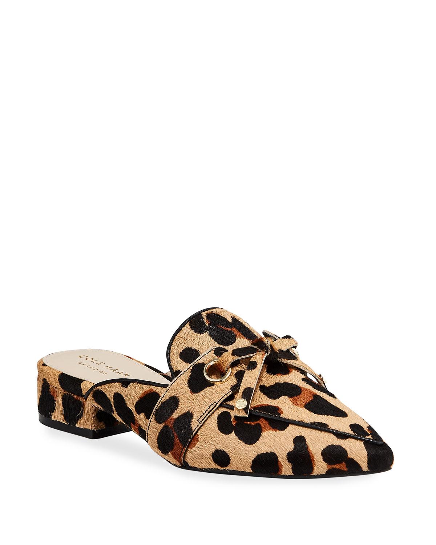 Emily Grand Leopard Mules