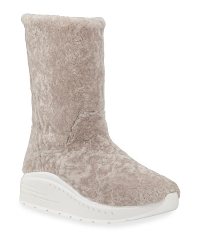 Murial Tall Shearling Booties