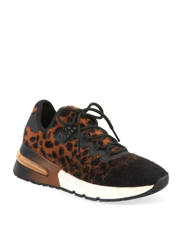 Krush Cheetah-Print Trainer Sneakers