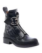 Chloe Roy Lug-Sole Combat Boots