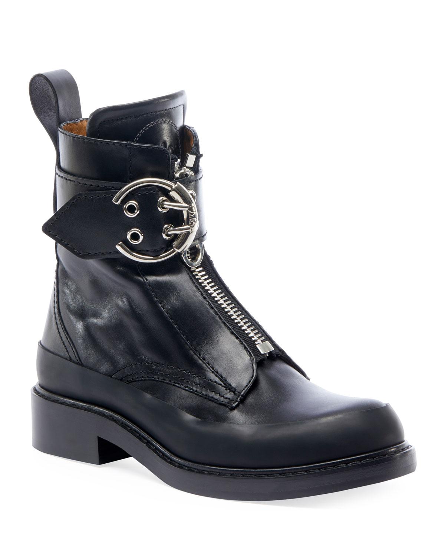 Roy Lug-Sole Combat Boots