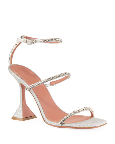 Gilda Glitter Crystal Sandals