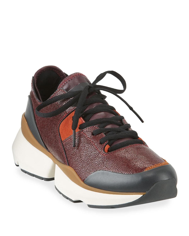 Manston Leather Runner Sneakers