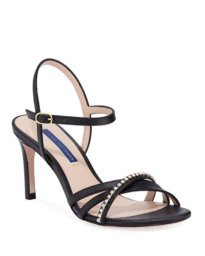 5baf9393734 Black Patent Leather Sandal | Neiman Marcus