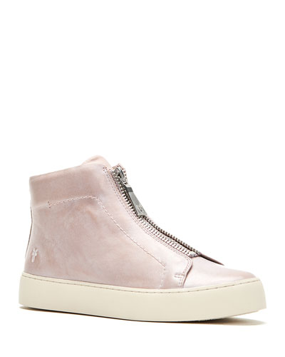 Lena Zip High-Top Sneakers