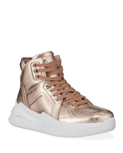 B Ball Iridescent Chunky Sneakers