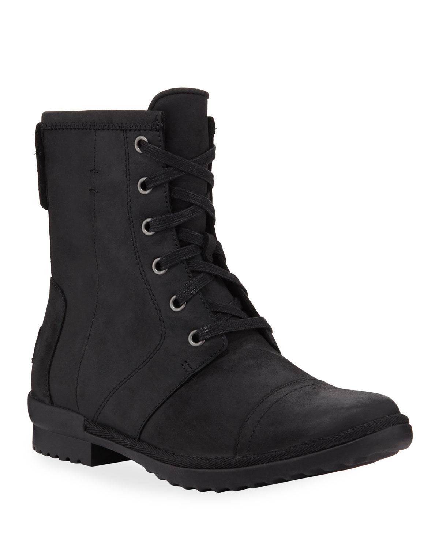 Ashbury Water-Resistant Combat Boots