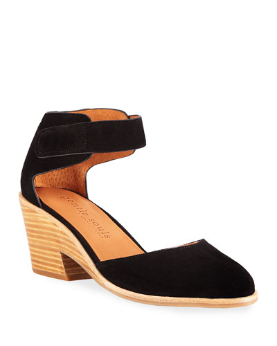 Blaise Suede Wedge Pumps