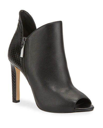 Alane Open-Toe Booties