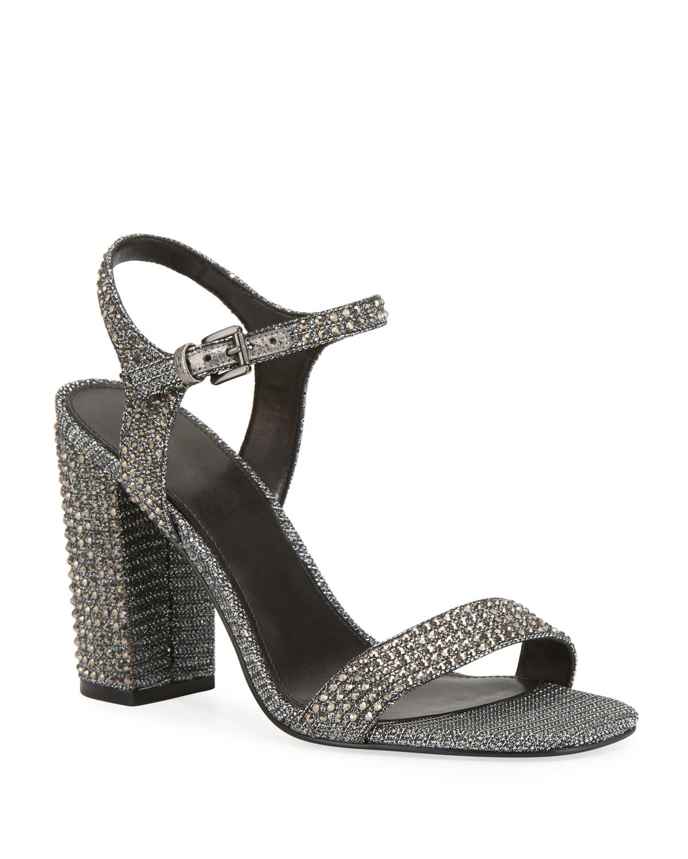 Francine Glitter Studded Sandals