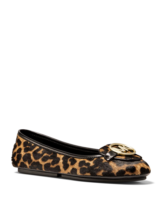 Lillie Cheetah Calf Ballet Flats