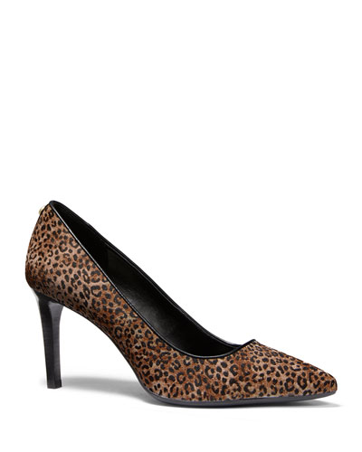 Dorothy Flex Cheetah Calf Hair Pumps