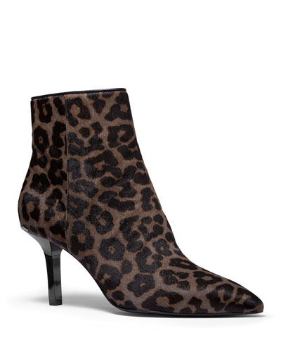Katerina Cheetah Calf Hair Booties