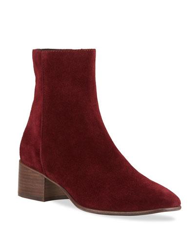 Aslen Suede Zip Boots