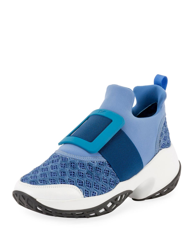Viv' Run Stretch Buckle Sneakers
