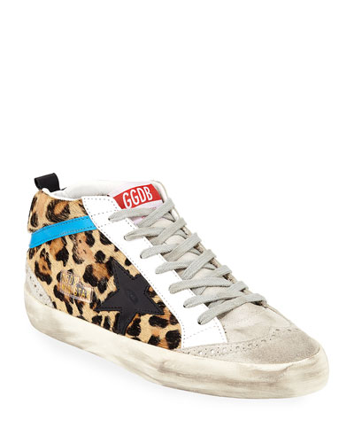 Mid Star Leopard Sneakers