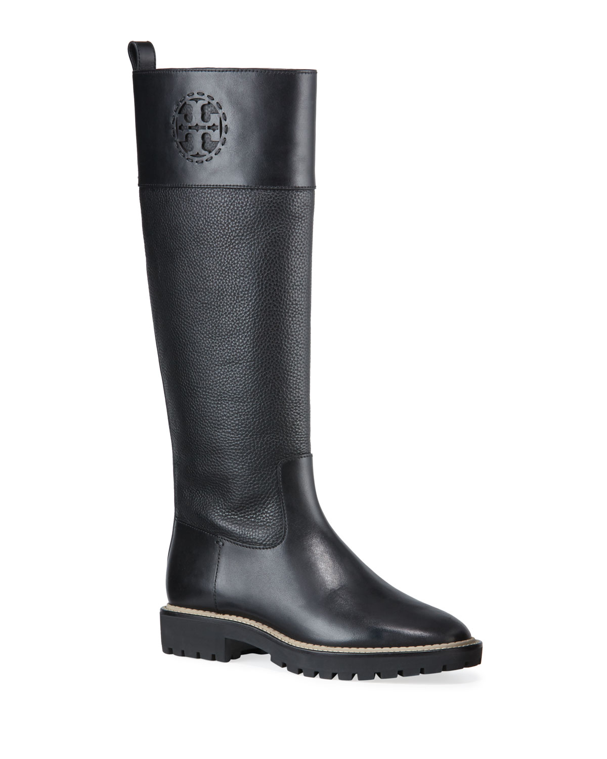Miller Tall Lug-Sole Boots