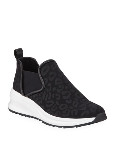Zayda Printed Athleisure Sneakers