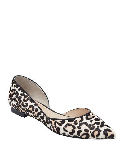 Sunny Leopard Skimmer Flats