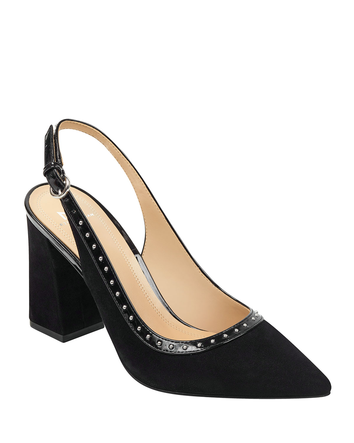 Joi Studded Slingback Pumps