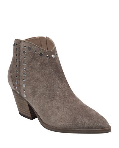 Deni Studded Ankle Booties