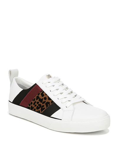 buy popular 09667 f6353 Striped Leather Sneaker   Neiman Marcus