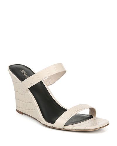 Vivienne Slide Wedge Sandals