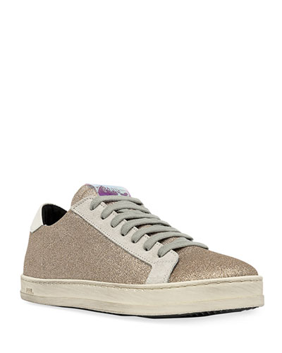 John Glitter Low-Top Sneakers