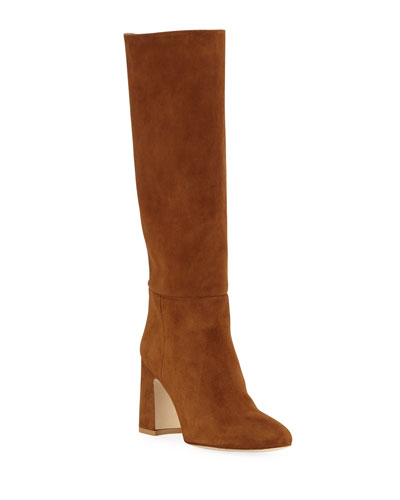 Talina Suede Knee Boots