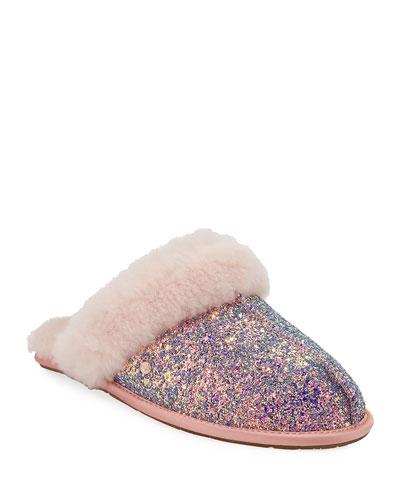 Scuffette II Cosmos Slippers, Quartz Pink
