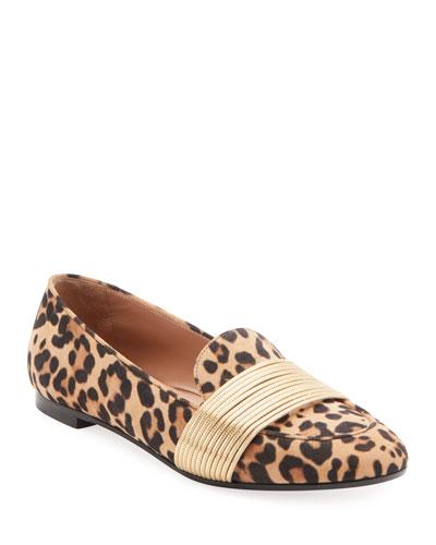 Rendez Vous Jaguar Suede Loafers