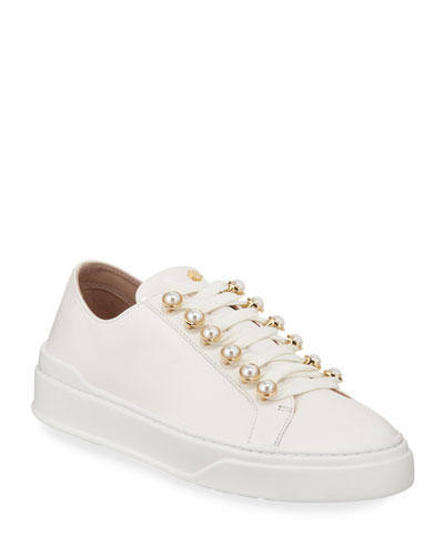 248102107 Leather Lining Sneaker | Neiman Marcus