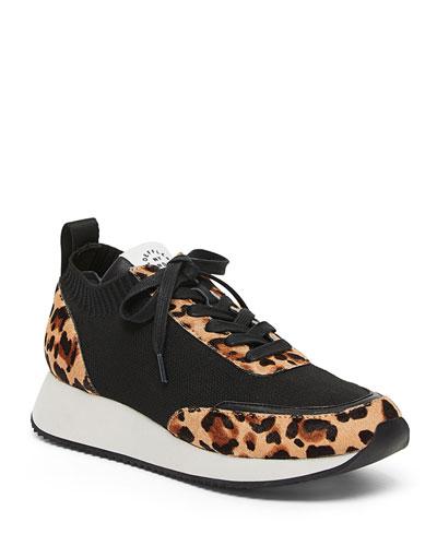 Remi Leopard Leopard-Print Sneakers