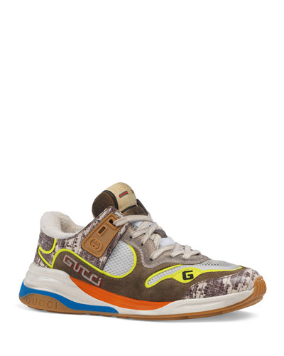 G-Line Mixed Media Sneakers