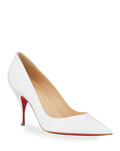 Clare Red Sole Pumps